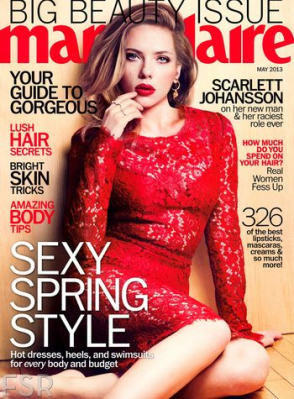 Scarlett Johansson May 2013 Marie Claire