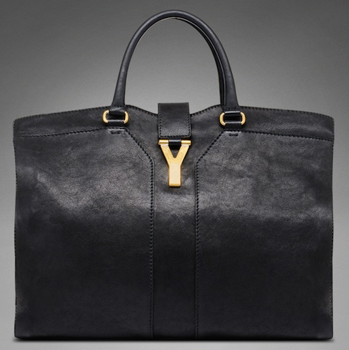YSL-Yves-Saint-Laurent-YSL-Cabas-Chyc-Leather-Bag-Black – City Girl ... 817fca12bb289