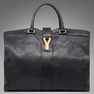 YSL-Yves-Saint-Laurent-YSL-Cabas-Chyc-Leather-Bag-Black