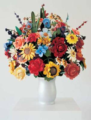 Large Vase with Flowers - Jeff Koons