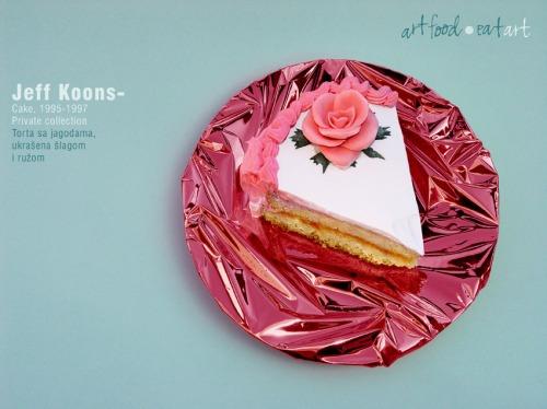 Marko_Stojanovic,_Jeff_Koons_-_Cake,_2007_(Art_Food_-_Eat_Ar