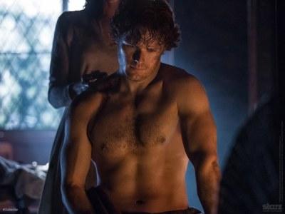 Sam as Jamie Fraser Outlander